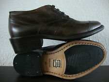 Belstaff SCOOTER 1955 lady Antique Brown Bottine Chaussures femmes taille 37 NEUF