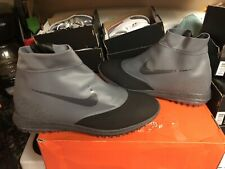 Nike Men's Lunar Vaporstorm Golf BOA Shoes Dark Gray Red 918622-003 Size 14