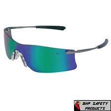 MCR SAFETY RP2130 Reaper™ Safety Glasses Black Frame And Green