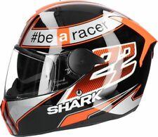 Shark D-Skwal Sam Lowes Integralhelm Gr. M  schwarz orange ! von BikerWorld