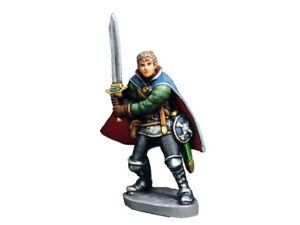 Aurora Model Fantasy Game Miniatures 'Warrior' Unpainted Metal Figure FE-033