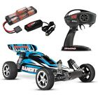 Traxxas Bandit XL-5 RTR Electric Buggy BLUE 2.4GHz, Battery, & Charger - 24054-1