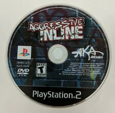 Aggressive Inline - Sony Play Station 2 - 2002 PS2 - Disc Only - FREE SHIPPING