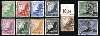 GERMANY Deutsche Luftpost  SC# C46-C56 Airmail Stamps Postage 1934 USED