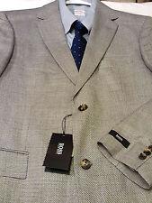 Hugo Boss USA Men's NWT $550 Lt. Gray 2 Button Silk Blend Sport Coat 40 R
