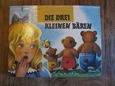 RAR Kinderbuch Die drei kleinen Bären Kubasta Pop-up Aufstellbilderbuch K0072