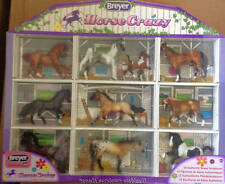 Breyer Stablemate Collection Horse Crazy Shadowbox Horses