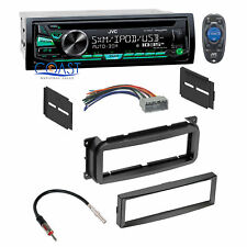 JVC Car Stereo Radio Single Din Dash Kit Harness For 02-up Chrysler Dodge Jeep