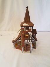 DEPARTMENT 56 DICKENS VILLAGE DICKEN'S SERIES A CHRISTMAS CAROL HOUSE, 1992
