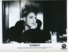 ISABELLE ADJANI - SUBWAY - ORIGINAL PUBLICITY PHOTO - 1985