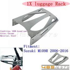 Chrome Steel Cobra Rear Seat Sissy Bar Luggage Rack For Suzuki M109R 2006-2016