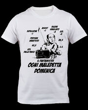 T-shirt Fantacalcio FANTAMISTER Lino Banfi Ogni maledetta domenica asta calcio