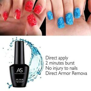 Burst Remover Cleaner Gel, Brust Remover, Nail Polish Nail Remover NEW Art M2H0