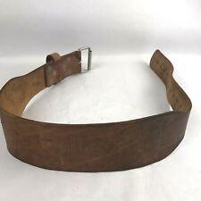 Belts - Leather Weight Lifting Belt Size Medium