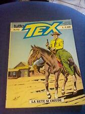 TUTTO TEX LA RETE SI CHIUDE NUMERO 112 SERGIO BONELLI 1991