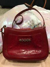 Rare Vintage Brighton red leather handbag