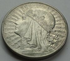 10 ZL ZLOTYCH QUEEN JADWIGA POLAND POLEN 1932 SILVER COIN LONDON MINT No 2