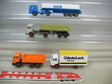 s848-0, 5 #4x Wiking H0 Mercedes-Benz MB / MAN Truck : Aral , Automotive Paint