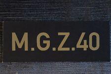 2X *STENCIL SET* FOR WW2 WWII GERMAN OPTICAL SIGHT BOX MG34 & MG42