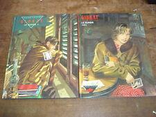 LE SURSIS Tome 1 + Tome 2- GIBRAT Lot de 2 BD