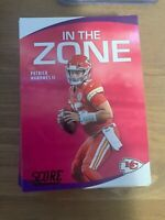 2020 Panini Score Football You Pick Inserts, Parallels Red & Gold Shipping $2.00