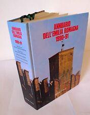 ANNUARIO DELL'EMILIA ROMAGNA 1990-91,Marsilio[storia locale,economia,turismo