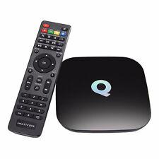 Qbox Android 5.1 Smart TV box Amlogic S905 64bits 2GB/16GB LAN WiFi BT 4.0 H.265