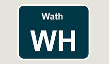 1x Wath Train Depot Sticker/Decal 100 x 77mm