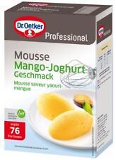 (1000g=17,95€) Dr. Oetker Professional - Mousse Mango-Joghurt 76 Portionen