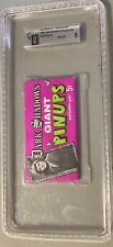 1969 Dark Shadows Giant Pinups Sealed Unopened Wax Pack Gia 8 Nm-Mt