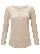 Maison Scotch Home Alone Stripe Grandad T-Shirt, SIze 10 RRP £50 Scotch & Soda
