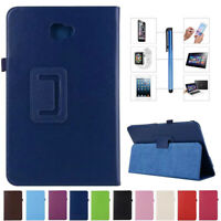 """For Samsung Galaxy Tab 4 3 7"""" 8"""" 10.1"""" Tablet PU Leather Stand Folio Case Cover"""