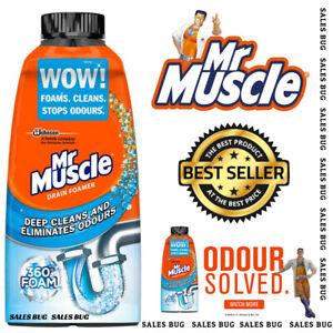Mr Muscle Drain Sink Drain Foam Unblocker  Foamer 500Ml