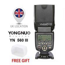 YONGNUO YN-560 III GN58 Wireless Speedlite Flash fr Camera Canon Nikon Sony UK