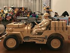 1/6 SAS Desert Raider 4X4 Jeep WWII British Allied Dragon GI Joe Fully Assembled