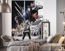 Weihnachtsgeschenk Star Wars Tapete Kinderzimmer Foto Wandbild Rey Schwarz