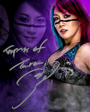 WWE ASUKA HAND SIGNED AUTOGRAPHED 8X10 PHOTO INSCRIBED WITH PROOF AND COA 2