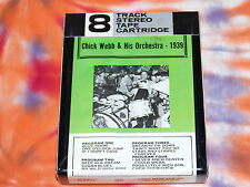 CHICK WEBB & HIS ORCHESTRA 1939 ALAMAC RECORDS 8 track tape BRAND NEW Jazz Swing
