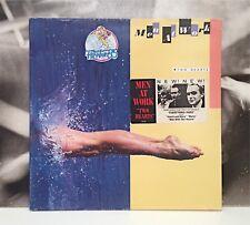 MEN AT WORK - TWO HEARTS LP EX-/EX+ 1985 HOLLAND CBS 26492