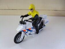 Dutch Policemotor with Cop - White - Nederland Politie moter met Agent