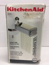 KitchenAid KPCA Pasta Cutter Companion Set Attachment Angel Hair & Thick Noodle