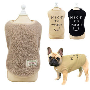 Small Dog Coat Winter French Bulldog Clothes Warm Jacket Cold Weather Chihuahua