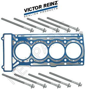 For Mercedes W203 C204 R172 L4 Eng Cylinder Head Gasket Joint & Set 10 Bolts Kit