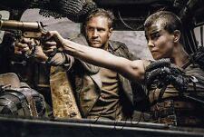 CHARLIZE THERON signed Autogramm 20x30cm MAD MAX In Person autograph COA FURY R