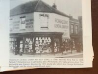 H1a Ephemera Reprint Picture Burnham Richardson's Boot Stores 1908