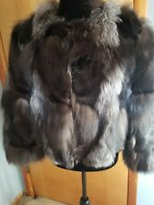 Trilogy collections Michael McCollom fur silver fox Finland  pieces size L