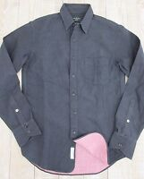 NEW rag & bone Men's $275 Slim Fit 100% Cotton Dotted Navy Shirt Size XS