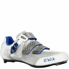 Fi'zi:k R3 Cycling Carbon Road Racing shoe White Blue Made in ITALY New