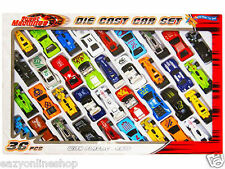 36 PCS DIE CAST CAR MODEL SET F1 CONVERTIBLE RACING CARS KIDS TOY PLAY SET TY792