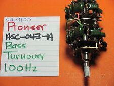 PIONEER ASC-043-A BASS TURNOVER POT 100Hz SA-9100